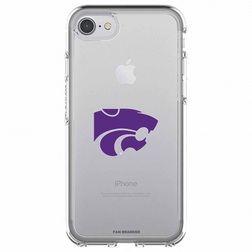 Kansas State Wildcats OtterBox iPhone 8/7 Symmetry Clear Case