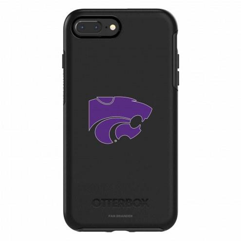 Kansas State Wildcats OtterBox iPhone 8 Plus/7 Plus Symmetry Black Case