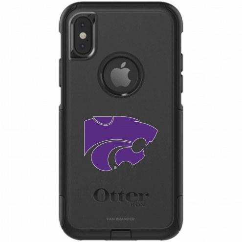Kansas State Wildcats OtterBox iPhone X Commuter Black Case