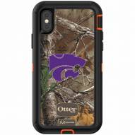Kansas State Wildcats OtterBox iPhone X Defender Realtree Camo Case