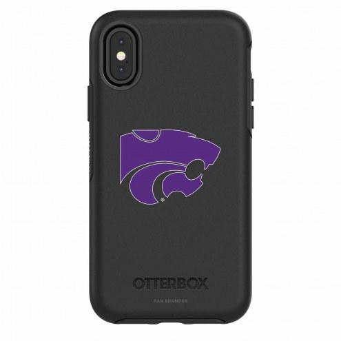Kansas State Wildcats OtterBox iPhone X Symmetry Black Case