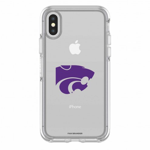 Kansas State Wildcats OtterBox iPhone X Symmetry Clear Case