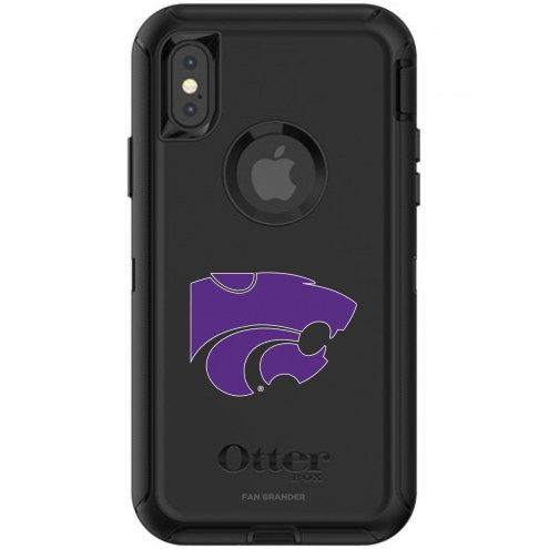 Kansas State Wildcats OtterBox iPhone X/Xs Defender Black Case