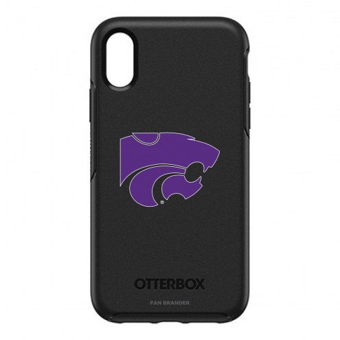 Kansas State Wildcats OtterBox iPhone XR Symmetry Black Case