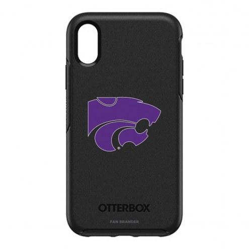 Kansas State Wildcats OtterBox iPhone XR Symmetry Black Case