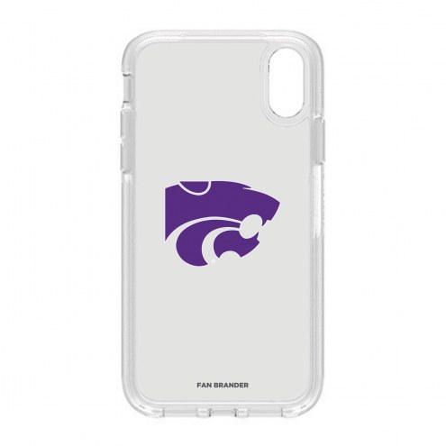 Kansas State Wildcats OtterBox iPhone XR Symmetry Clear Case