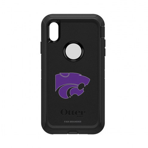 Kansas State Wildcats OtterBox iPhone XS Max Defender Black Case