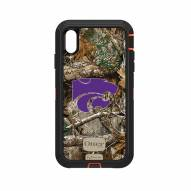 Kansas State Wildcats OtterBox iPhone XS Max Defender Realtree Camo Case