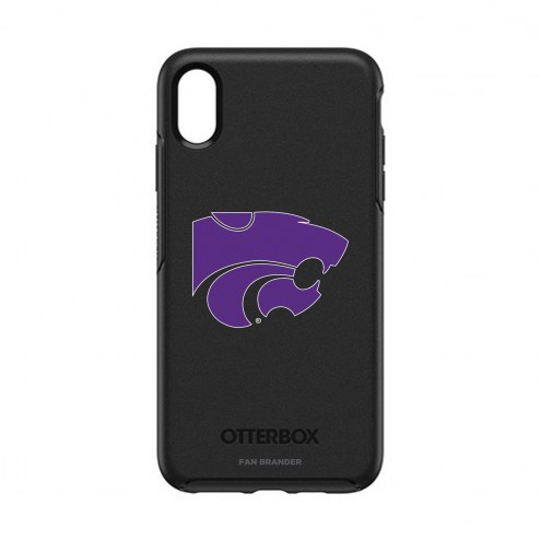 Kansas State Wildcats OtterBox iPhone XS Max Symmetry Black Case