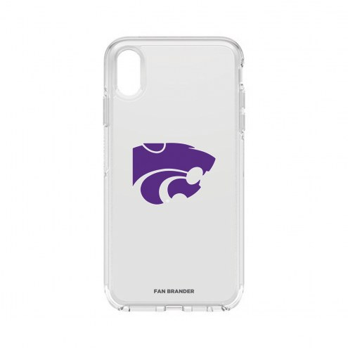 Kansas State Wildcats OtterBox iPhone XS Max Symmetry Clear Case