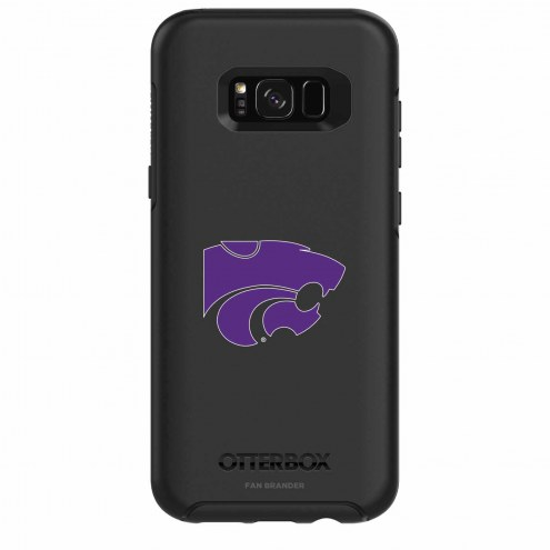 Kansas State Wildcats OtterBox Samsung Galaxy S8+ Symmetry Black Case