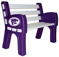 Kansas State Wildcats Park Bench