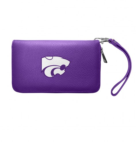 Kansas State Wildcats Pebble Organizer Wallet