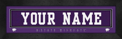 Kansas State Wildcats Personalized Stitched Jersey Print