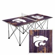 Kansas State Wildcats Pop Up 6' Ping Pong Table