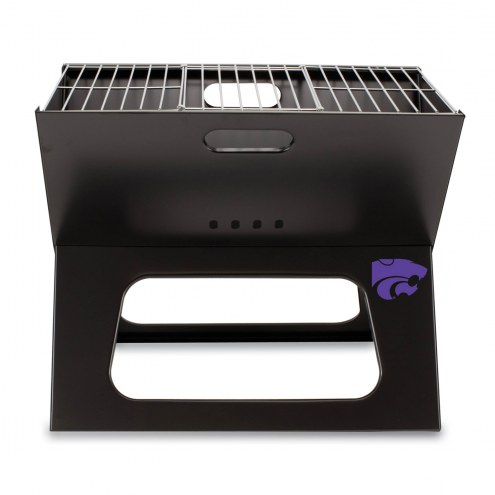 Kansas State Wildcats Portable Charcoal X-Grill