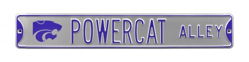 Kansas State Wildcats Powercat Street Sign
