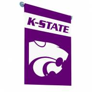 Kansas State Wildcats Premium 2-Sided Garden Flag