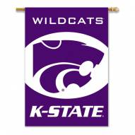 "Kansas State Wildcats Premium 28"" x 40"" Two-Sided Banner"