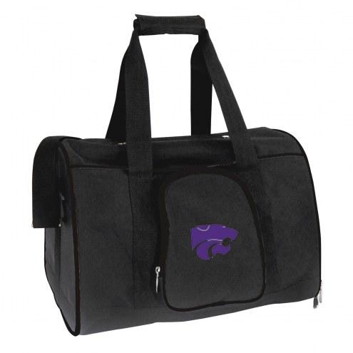 Kansas State Wildcats Premium Pet Carrier Bag