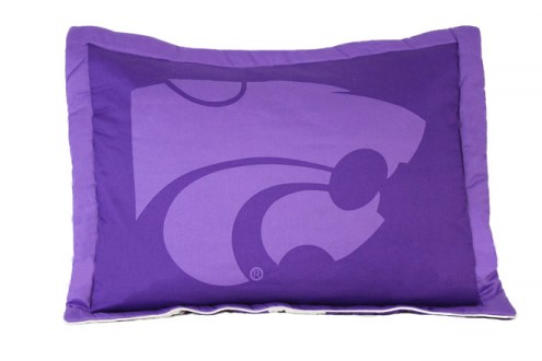 Kansas State Wildcats Printed Pillow Sham