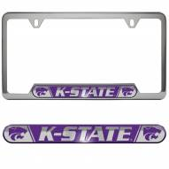 Kansas State Wildcats License Plate Frame