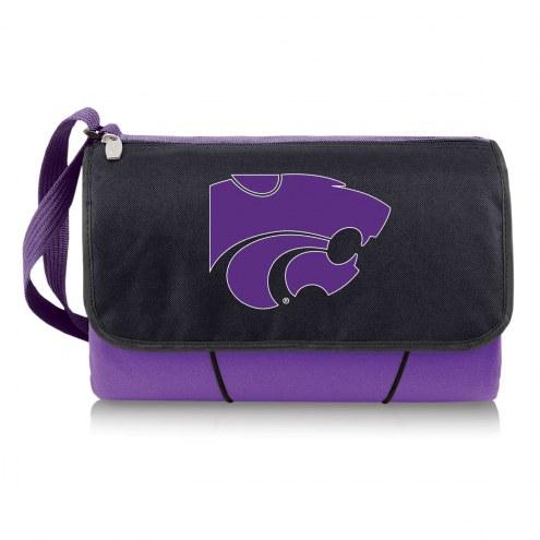 Kansas State Wildcats Purple Blanket Tote