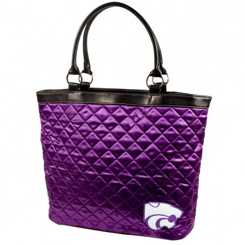Kansas State Wildcats Quilted Tote Bag