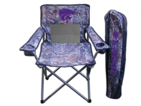 Kansas State Wildcats RealTree Camo Tailgating Chair