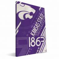Kansas State Wildcats Retro Canvas Print