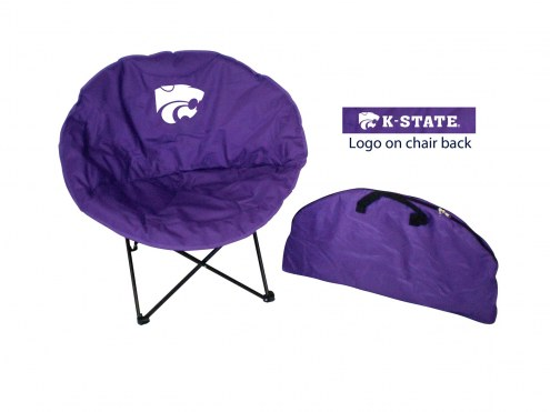 Kansas State Wildcats Rivalry Round Chair