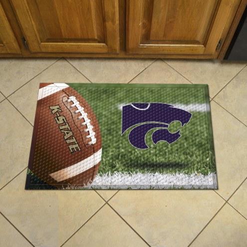 Kansas State Wildcats Scraper Door Mat