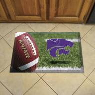 Kansas State Wildcats Scraper Door Mat