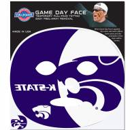 Kansas State Wildcats Set of 4 Game Day Faces