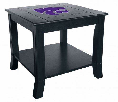 Kansas State Wildcats Side Table