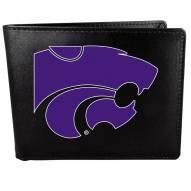 Kansas State Wildcats Large Logo Bi-fold Wallet