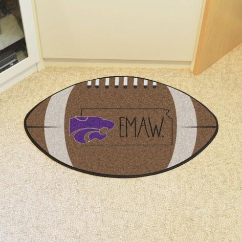 Kansas State Wildcats Southern Style Football Floor Mat
