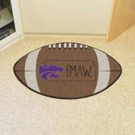 Kansas State Wildcats Southern Style Football Floor Mat