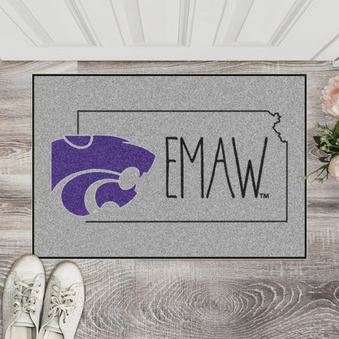 Kansas State Wildcats Southern Style Starter Rug