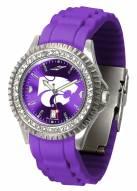 Kansas State Wildcats Sparkle Women's Watch