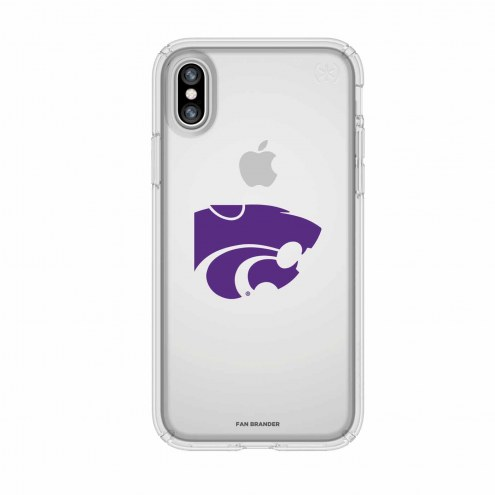 Kansas State Wildcats Speck iPhone X Presidio Clear Case