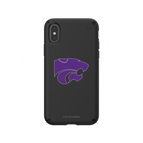 Kansas State Wildcats Speck iPhone X/Xs Presidio Pro Black Case