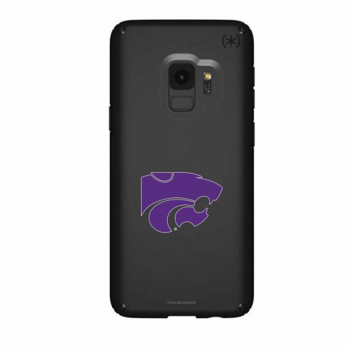 Kansas State Wildcats Speck Samsung Galaxy S9 Presidio Black Case