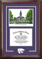 Kansas State Wildcats Spirit Diploma Frame with Campus Image