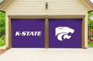 Kansas State Wildcats Split Garage Door Banner