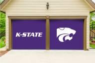 Kansas State Wildcats Split Garage Door Banner