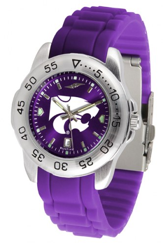 Kansas State Wildcats Sport Silicone Men's Watch