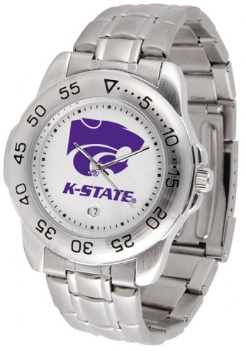 Kansas State Wildcats Sport Steel Men's Watch