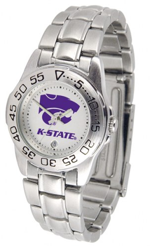 Kansas State Wildcats Sport Steel Women's Watch