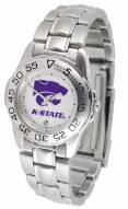 Kansas State Wildcats Sport Steel Women's Watch